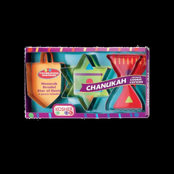 Cookie Cutters - Chanukah Set  3pc. Large