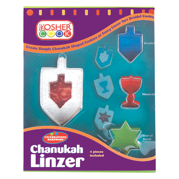 Cookie Cutters - Chanukah Set 4pc.