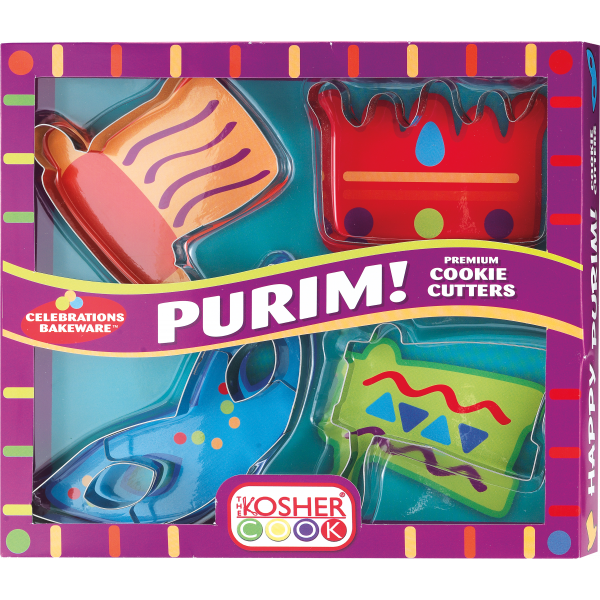 Cookie Cutters - Purim Set 4pc.