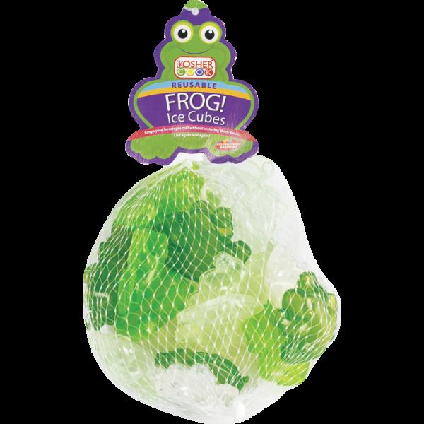 Reusable Ice Cubes - Frog 20pk.