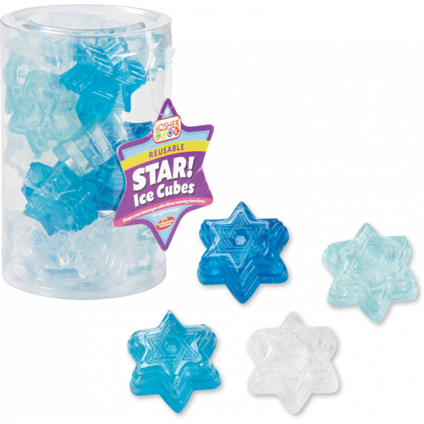 Reusable Ice Cubes - Star of David 20pk.