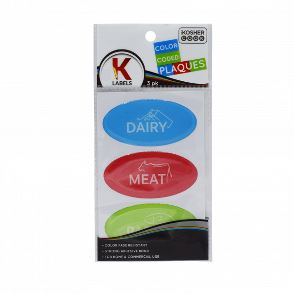 3pk K-Plaques - English