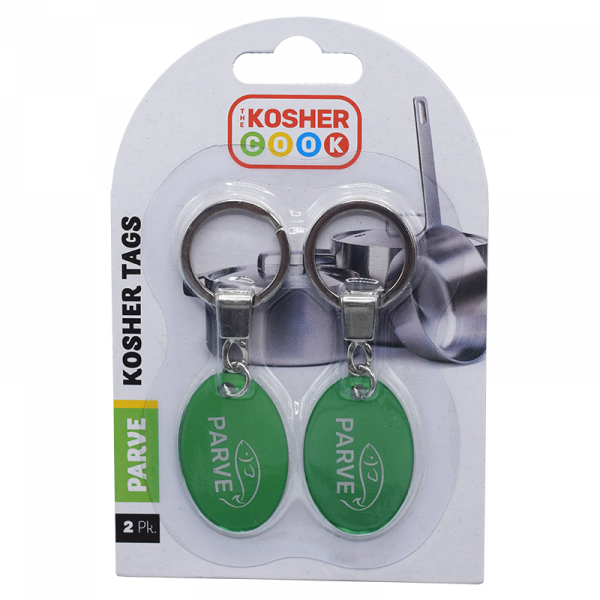 Green Kosher Coin Tag
