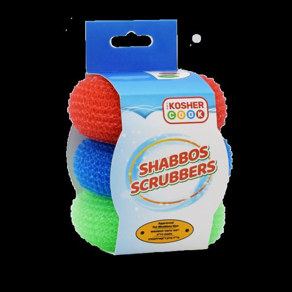 3pk. Shabbat Scrubbers