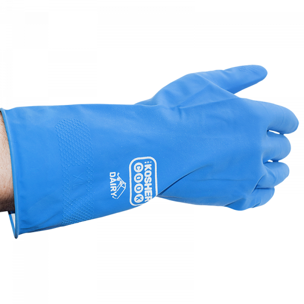 Reusable Latex Cleaning Gloves - Blue
