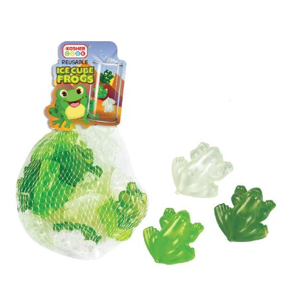 Reusable Ice Cubes - Frog 20pk.