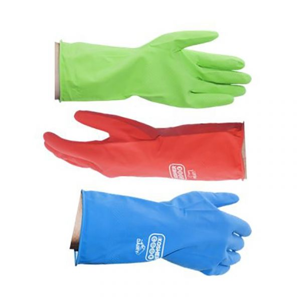 EXTRA LARGE - Reusable Latex Cleaning Gloves