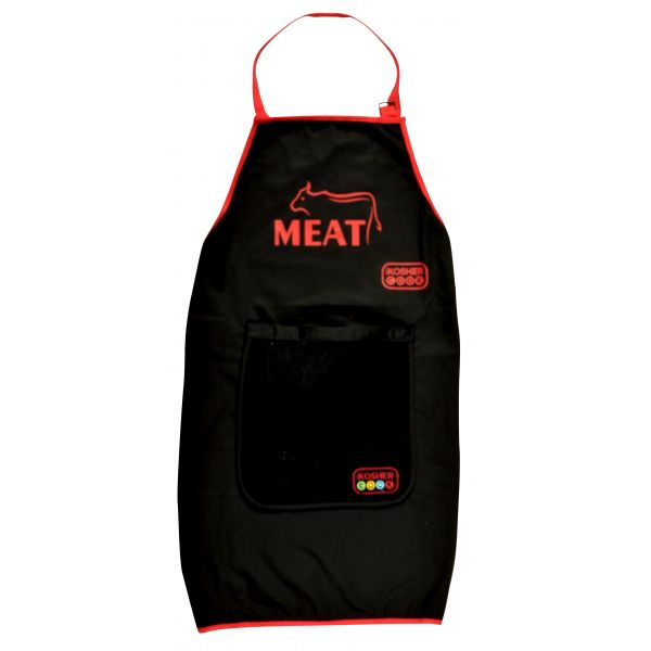 Apron With detachable towel - Meat